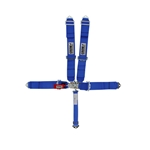 Crow Enterprizes 11003 Bolt-In 5-Point Harness, Pull Down, Blue