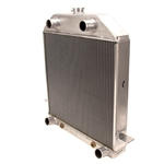 Griffin 7-70163 Dlx Alum Radiator for 1939-40 Ford Chassis w/Flathead