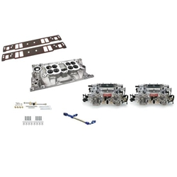 Edelbrock Chevy Vortec Dual Quad Set-Up