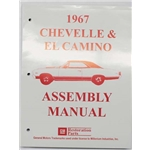 Dave Graham Factory Assembly Instruction Manual, 70 Chevelle/El Camino