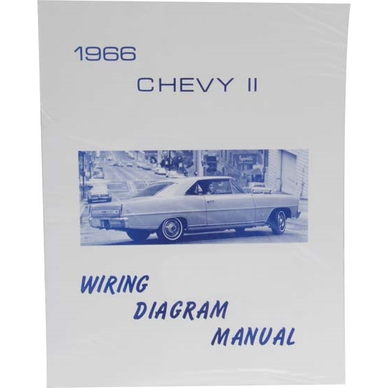 Jim Osborn MP0105 66 Chevy II Nova Wiring Diagrams