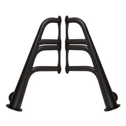 Small Block Chevy Lake Style Headers, Black