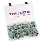 Tru-Lite Titanium Complete Bolt Kit, JEI/TI22, One Nut RR/DL
