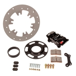 Ultra Lite Titanium Sprint Right Rear Brake Rotor Kit 10 Inch - Black