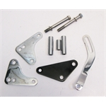 Garage Sale - Bills Hot Rod B/B Chevy Chrome Power Steering Pump Bracket-Short Pump