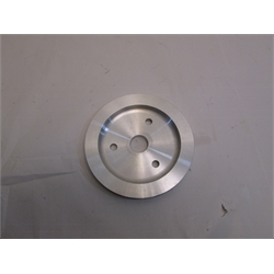 Garaeg Sale - Small Block Chevy Aluminum Single Lower Pulley, Short Pump