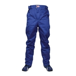 Garage Sale - Bell Pro Drive II Single Layer Pants Only, Blue, Size S