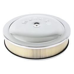 Moroso 65945 Chrome Air Cleaner for Holley 4500, 14 x 3 Inch