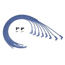 Moroso 73225 Spark Plug Wires, 90 Degree, Spiral Core, Blue Max