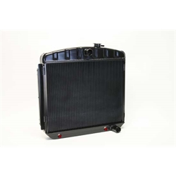 Dewitts 1239013A 1955-57 Chevy/TRI-V Direct Fit Radiator, Black, Auto