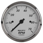 Auto Meter 1995 American Platinum Air-Core In-Dash Tachometer Gauge
