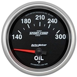 Auto Meter 7648 Sport-Comp II Air-Core Oil Temperature Gauge
