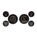 Classic Instruments Velocity Series Gauge Set, 6 Piece