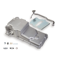 Holley 302-2 GM LS Retro-fit Oil Pan, 1955-87 GM