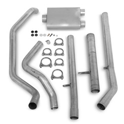 Flowtech 62100FLT 88-93 350 Engine 2.5 Header Back Exhaust, Rear Exit