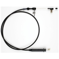 Lokar XKD-2700HT 700R4 GM Hi-Tech Kickdown Cable Kit, Black