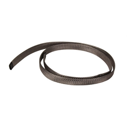 Stainless Braided Radiator Hose Cover, 1-1/2 to 2 Inch O.D.