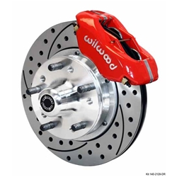 Wilwood 140-11017-DR FDL Front Disc Brake Kit, 74-80 Pinto/Mustang II