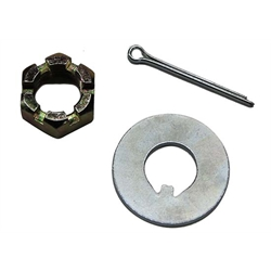 Replacement Spindle Nut/Keyed Washer and Pin Set, Camaro/Nova, Each