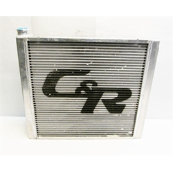 Garage Sale - C&R Chevy Aluminum Radiator, 19 X 22 Inch