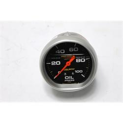 Garage Sale - Auto Meter 5421 Pro-Comp Mechanical Oil Pressure Gauge, 100 PSI, 2-5/8