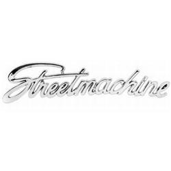 Street Machine Script Emblem