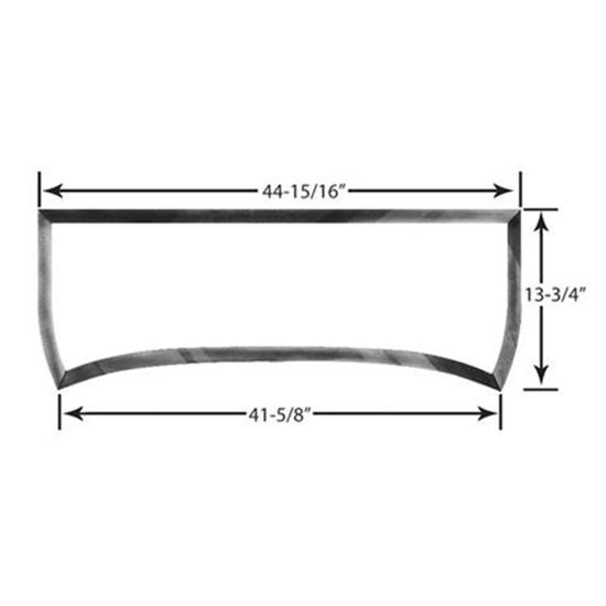 1933-34 Ford Roadster and Phaeton Windshield Frame, Plain