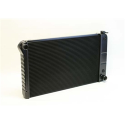 Dewitts 1239003A 1968-72 Chevelle SB/BB Direct Fit Radiator, Blk, Auto
