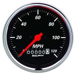 Auto Meter 1479 Designer Black Air-Core Speedometer Gauge, 3-3/8 Inch