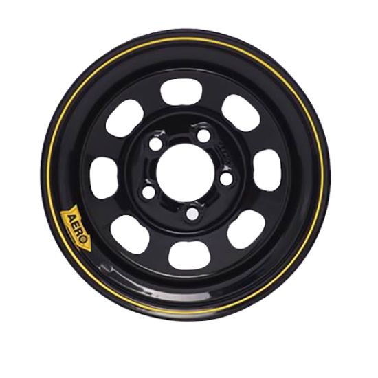 Aero 50 Series 15 Inch Race Wheel, 5 on 4-1/2 Pattern, 4 In. Backspace