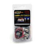 DEi 030310 LED Lite'N Boltz License Plate Lighting Kit, Polished Dome, 2 Piece