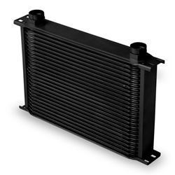 Earls 42500AERL 25 Row Oil Cooler Core, Black