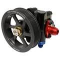 KRC Power Steering 50020000 Cast Iron Steering Pump, Serpentine