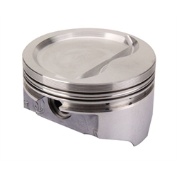 KB Chevy 383 Hypereutectic Pistons, Dish, 6.0 Inch Rod