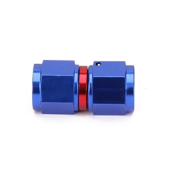 Female Aluminum Swivel Coupler, -8 AN