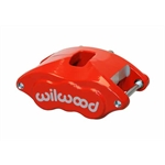 Wilwood 120-10939-RD D52 Dual Piston Floater Caliper, 1.25 / 1.04 Inch