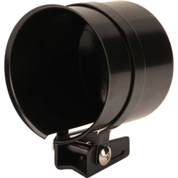 Tachometer Mounting Cup for 3-1/8 and 3-3/8 Inch Gauges, Black