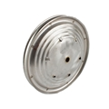 Pedal Car Parts, 7-1/2 Inch Ripple Wheel, 4 Inch Hub Cap