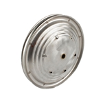 Pedal Car Parts, 7-1/2 Inch Ripple Wheel, 4 Inch Hubcap