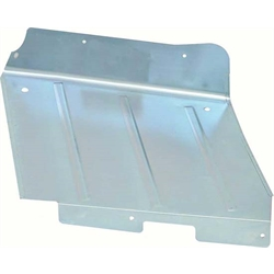 OER K509 Convertible Rear Side Well Cover Panel, LH, 1967-69 Camaro