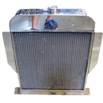 Garage Sale - 1949-53 Ford Aluminum Radiator, Ford Engine