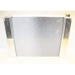 Garage Sale - AFCO Double Pass Racing Radiator, 26-3/4 Inch, 1-1/2 Inch Right Side Inlet