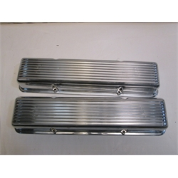 Garage Sale - Ansen 1960-86 Small Block Chevy Valve Covers, Polished