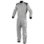 Garage Sale - Alpinestar KMX-3 Light Karting Suit, Silver, Size Large/XL