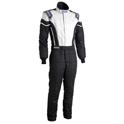 Garage Sale - Sparco Pro-Cup X2 Racing Suit Uniform, Black/Gray, Size Medium