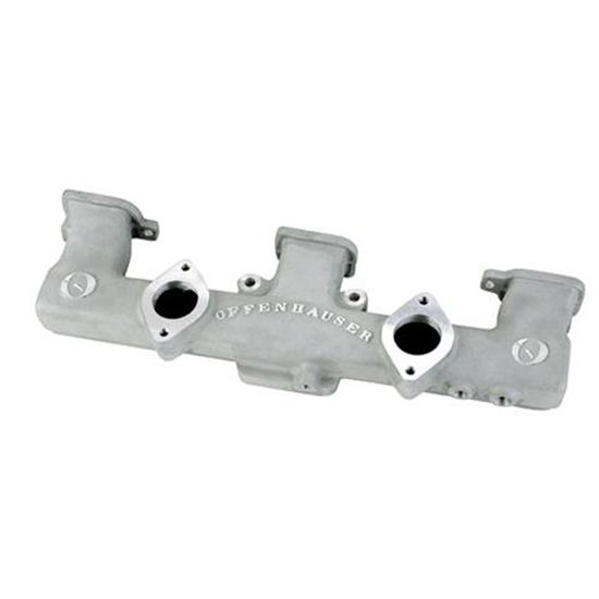 Offenhauser 5415 1963-75 Chevy 6-Cylinder Dual Carb Intake Manifold