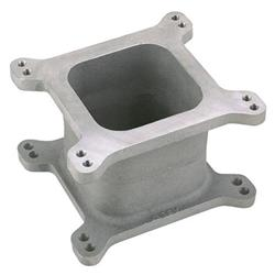 Aluminum Open Carburetor Spacer, 4 Inch