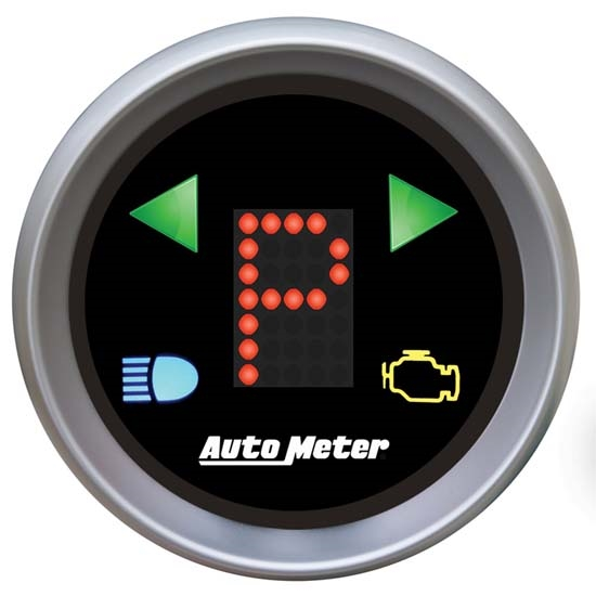 Auto Meter 3359 Sport-Comp Digital PRNDL Gear Position Indicator Gauge