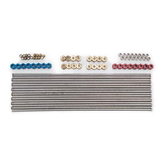 Edelbrock 71880 Direct Port Nitrous Oxide Plumbing Kit V8