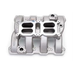 Edelbrock 7528 Performer RPM Air Gap Dual-Quad Intake Manifold, 5.7L